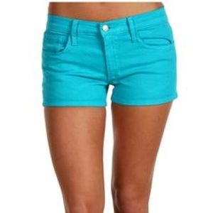 Joes Jean Shorts Turquoise